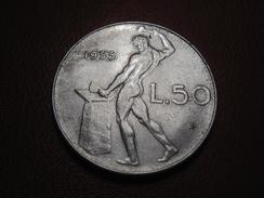 Italie - 50 Lire 1955 R 7150 - 1946-… : República