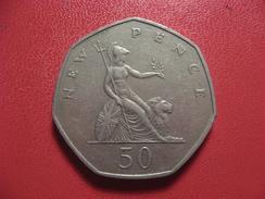 Grande-Bretagne - 50 Pence 1970 7098 - 1902-1971 : Monnaies Post-Victoriennes