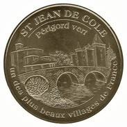 Monnaie De Paris 24.Saint Jean De Cole - Périgord Vert  2009 - Monnaie De Paris