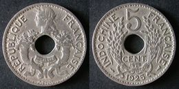 INDOCHINE  5 Cent 1925  FRENCH INDOCHINA  FRANCE Colonie  PORT OFFERT - Cambodia