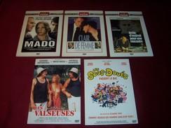 PROMO 5 DVD  CLASSIQUES ° CLAUDE SAUTET / CLAUDE ZIDI / BERTRAND BLIER / COSTA GRAVAS / FRACOIS DUPEYRON - Classiques