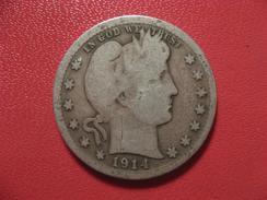 Etats-Unis - USA - Quarter Dollar 1914 6908 - Federal Issues