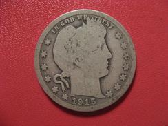 Etats-Unis - USA - Quarter Dollar 1915 D 6877 - Federal Issues