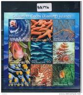 Australia Cocos Isl  2011 Marine Embelished Sheet Muh AA174 - Cocos (Keeling) Islands