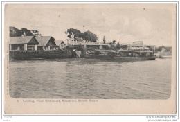 Landing , Penal Settlement , Massaruni , British Guiana - (prison - Bagne - Britisch Guyana) - Postcards