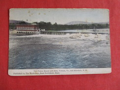 Power House & Dam Vernon Vermont  & Hinsdale NH > Ref 2785 - United States