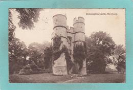 Small Old Postcard Of Donnington Castle,Newbury,Berkshire., England,K53. - Autres