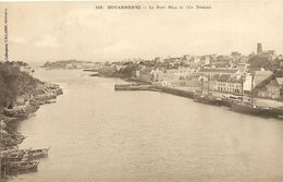 Cp Precurseur -    DOUARNENEZ -  Le Port RHU Et L' Ile TRISTAN  260 - Douarnenez