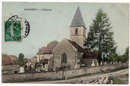 Savigny Sous Mâlain : L'église (Editeur Non Mentionné) - France