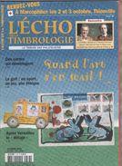 L ECHO DE LA TIMBROLOGIE - LE GOLF, CHANGEMENT D ADRESSES, LE MAIL, TRAITES DE LA PAIX APRES VERSAILLES, SERIE ORPHELINS - Français (àpd. 1941)