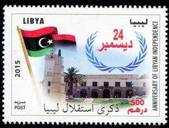 XD0936 Flag Of Libya 2015 Independence Day 1V MNH - Libya