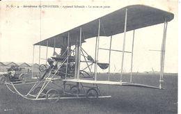 AVIATION -  SCHMIDT Sur Aérodrome De CHARTRES - Aviadores