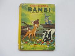 Walt Disney 1961 Bambi Erzählt Nach Felix Salten. Blüchert Verlag. Farbige  Bilder! - Walt Disney
