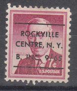 USA Precancel Vorausentwertung Preo, Locals New York, Rockville Centre L-4 ITS - Vereinigte Staaten
