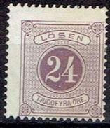 SWEDEN  # FROM 1877   TK: 13  Red-violet * - Postage Due