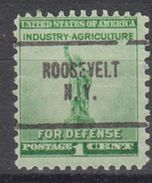 USA Precancel Vorausentwertung Preo, Locals New York, Roosevelt 704 - Vereinigte Staaten