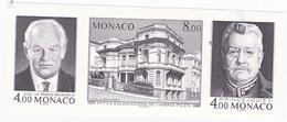 MONACO TIMBRES BLOC FEUILLET N° 39a CINQUANTENAIRE DE L'O.E.T.P. MARGES COUPEES - Monaco