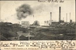 Cp Griesheim In Hessen, Explosion In Den Chemischen Fabriken - Postcards