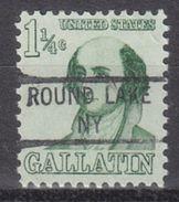USA Precancel Vorausentwertung Preo, Locals New York, Round Lake 841 - Vereinigte Staaten