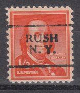 USA Precancel Vorausentwertung Preo, Locals New York, Rush 701 - Vereinigte Staaten