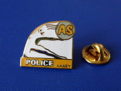 Pin's Police Nationale - Nancy AS Association Sportive - Gymnastique (KB26) - Police