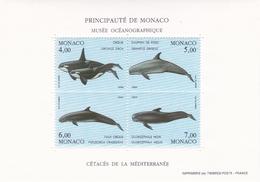 MONACO 1994 TIMBRES BLOC FEUILLET N° 64 PROTECTION ENVIRONNEMENT MARIN - Monaco