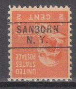USA Precancel Vorausentwertung Preo, Locals New York, Sanborn 745 - Vereinigte Staaten