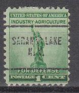 USA Precancel Vorausentwertung Preo, Locals New York, Saranac Lake 704 - Vereinigte Staaten