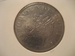 1 Boliviano 1997 BOLIVIA Coin - Bolivia