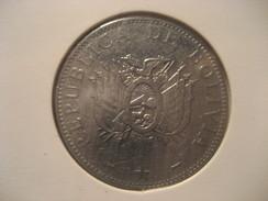 1 Boliviano 2004 BOLIVIA Coin - Bolivie