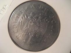 2 Bolivianos 1997 BOLIVIA Coin - Bolivie
