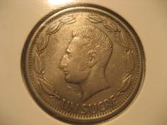 Un Sucre 1970 ECUADOR Coin - Ecuador
