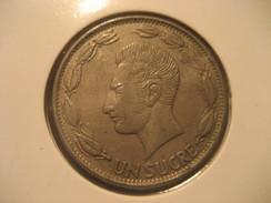 Un Sucre 1980 ECUADOR Coin - Ecuador