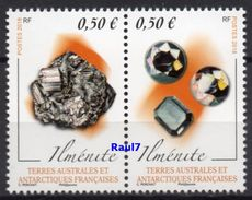 T.A.A.F. // F.S.A.T. 2018 - Minéraux - 2 Val Neufs // Mnh - Ungebraucht