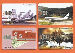 Madagascar Malagasy  Madagaskar TC Publicité AIR MADAGASCAR Série Complète - Madagascar