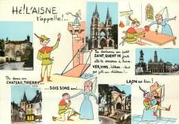 02 -  L'AISNE - ST QUENTIN - LAON - SOISSONS - CHATEAU THIERRY - France