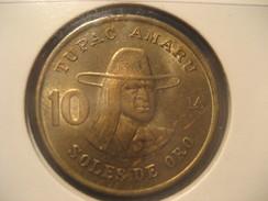 10 Soles De Oro 1979 PERU Coin - Perú