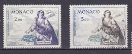 MONACO 1960 TIMBRE POSTE AERIENNE N° 73 ET 75 OBL. - Monaco