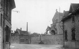 CPSM Dentellée - BRIMONT (51) - Aspect De La Rue Principale Et Du Quartier De L'Eglise En 1967 - Autres Communes
