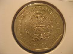 1 Nuevo Sol 2009 PERU Coin - Perú