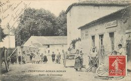 FRONTENAY-ROHAN-ROHAN - Atelier De Charonnage. - Frontenay-Rohan-Rohan