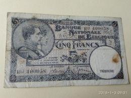 5 Franchi 1938 - Belgium