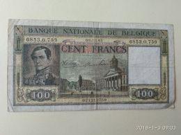 100  Franchi 1945 - Belgium