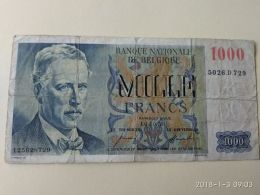 1000   Franchi 1953 - Belgio
