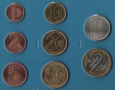 BELARUS COIN SET 8 MONNAIES 1 KOPEK - 2 RUBEL  2009 BIMETAL - Belarus