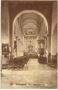 ZWEVEGEM - Binnenzicht Der Kerk - Drukk. R. Nuttin-Toeloose (Nels) - Zwevegem