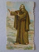 D1012-Santino Fustellato S.Francesco Di Assisi Ricordo Del VII° Centenario Della Morte - Images Religieuses