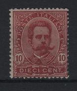 1891-96 Umberto I 10 C. MLH - 1861-78 Victor Emmanuel II.