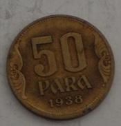 JUGOSLAVIA – 50 PARA – 1938 – (108) - Jugoslavia