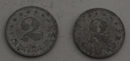 JUGOSLAVIA – 2 DINARA – 2 MONETE – (109) - Jugoslavia
